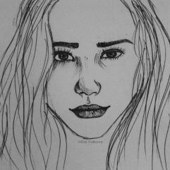 Porträt Kugelschreiber | портрет химикал